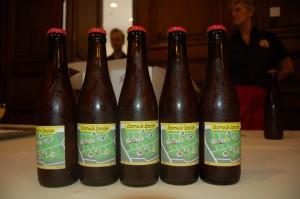 De Objectieve Kaaischuimers lieten éénmalig het bier 'Doornwijk speciale' brouwen.