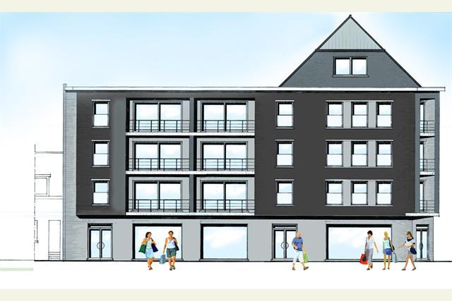 Er komt een nieuwbouwproject van 14 appartementen en 4 winkelruimten