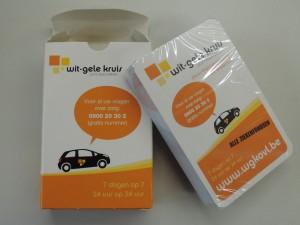 Kaartspel Wit-Gele Kruis Oost-Vlaanderen