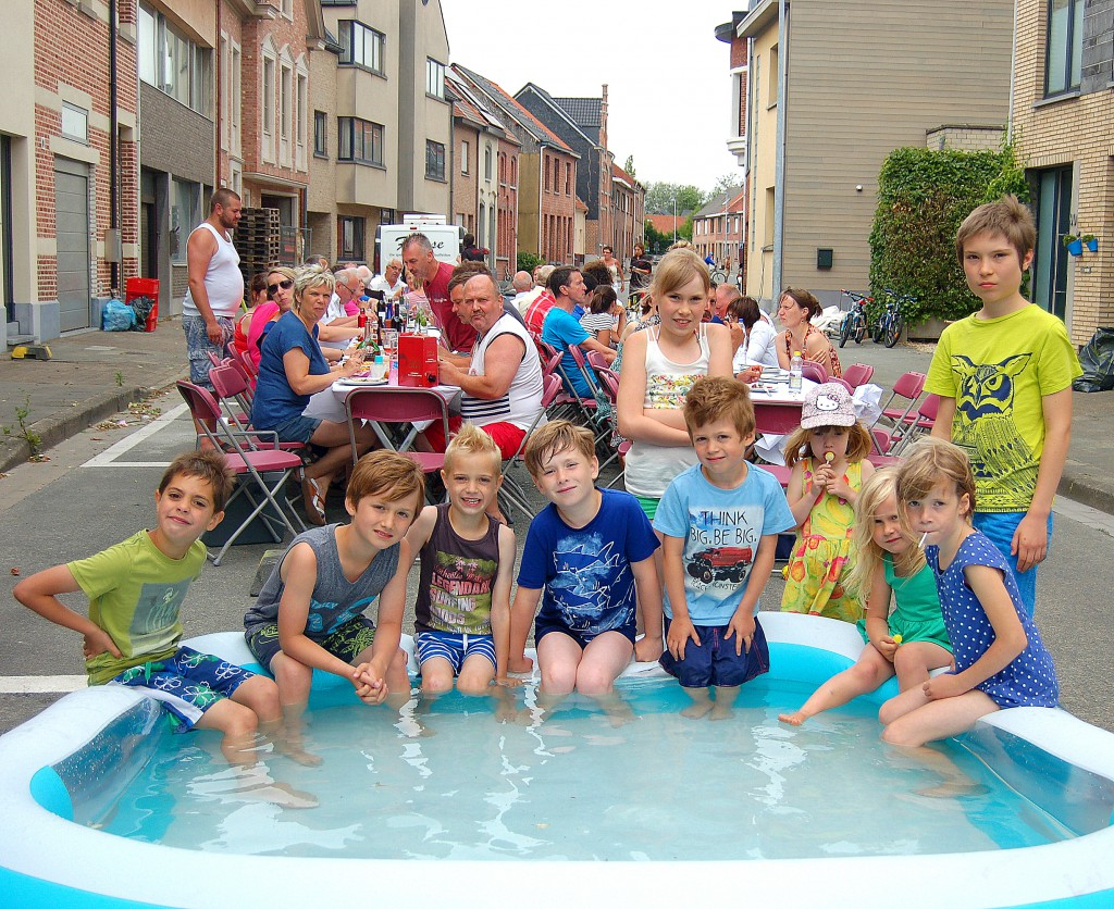 Straatfeest St-Jorisstraat 2015