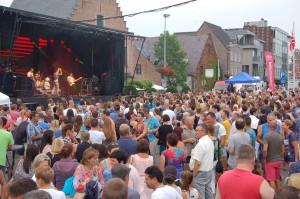 Veel volk voor Niels De Stadsbader