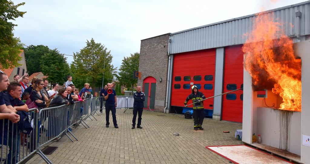 Opendeur Brandweer Temse 2015