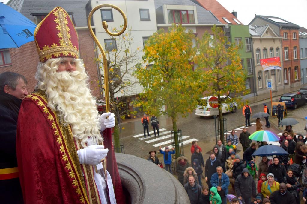 Aankomst Sinterklaas_Temse 2015