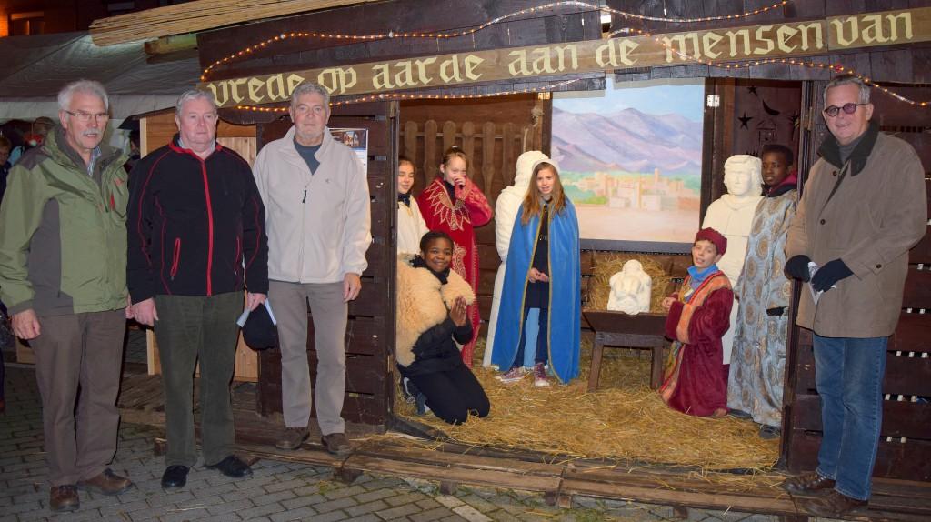 Opening Kerststal Steendorp 2015