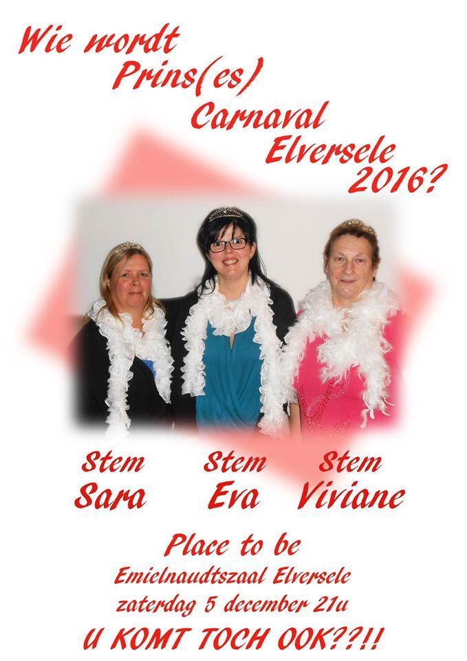 Prins carnaval Elversele 2016