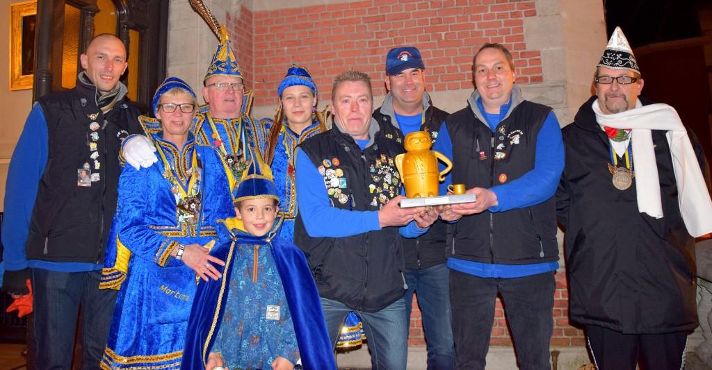 Carnavalsstoet Temse 2016 winnaars