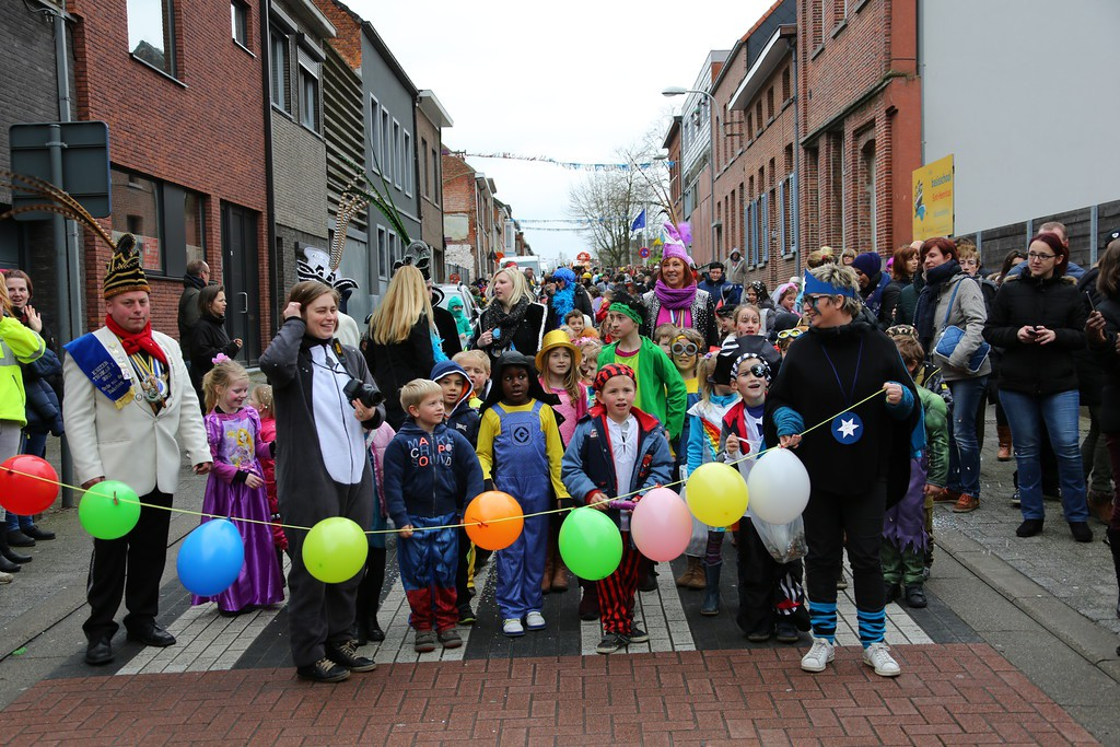 Kindercarnaval Steendorp 2016
