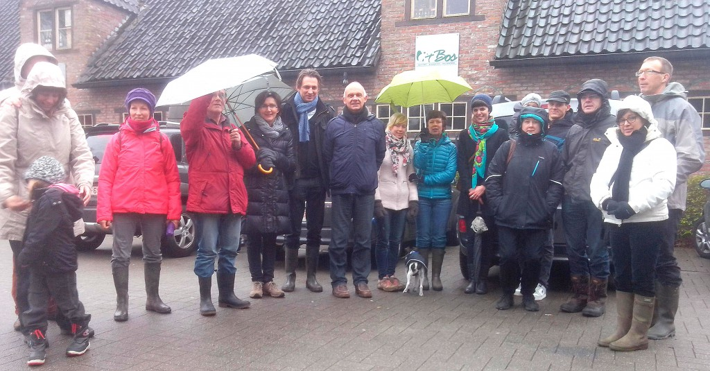 Groen Temse wandelde het nieuwe jaar in.