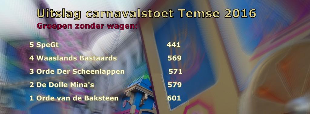 Uitslag carnavalstoet 2016 zonder wagen_2