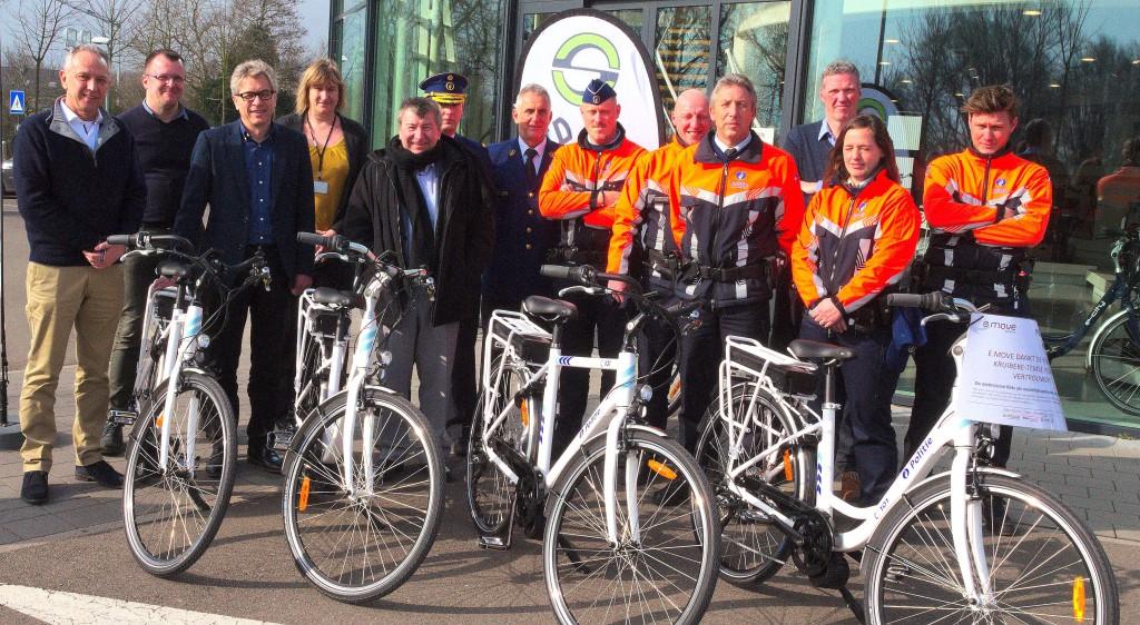 politie elektrische fietsen_2016
