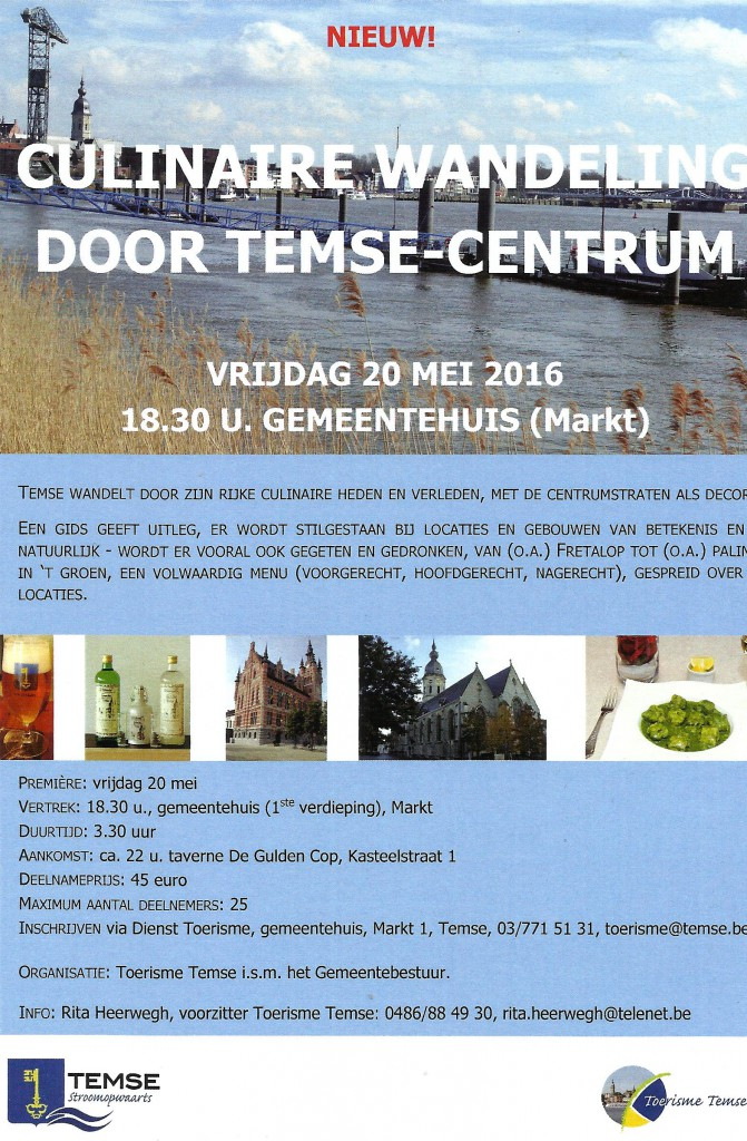 Culinaire wandeling 2016
