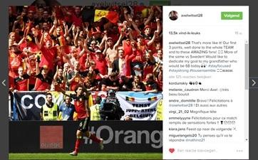 Instagram_Axel Witsel_Temse_Jupporters_EK