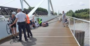 Ongeval fietsers scheldebrug 26 07 2016