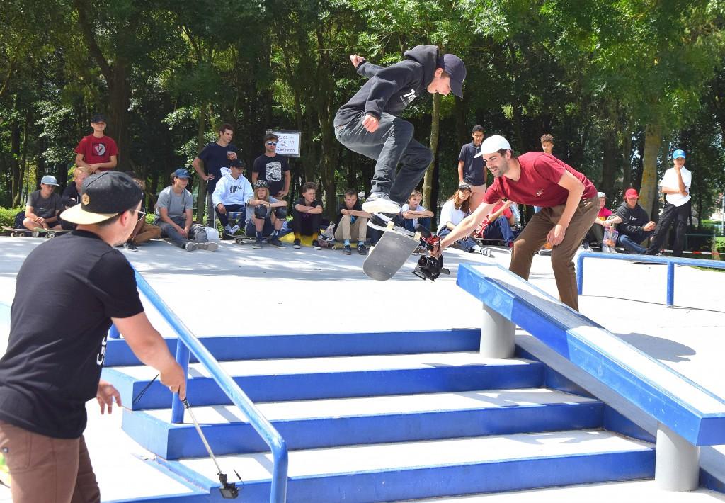 opening nieuw skatepark Temse