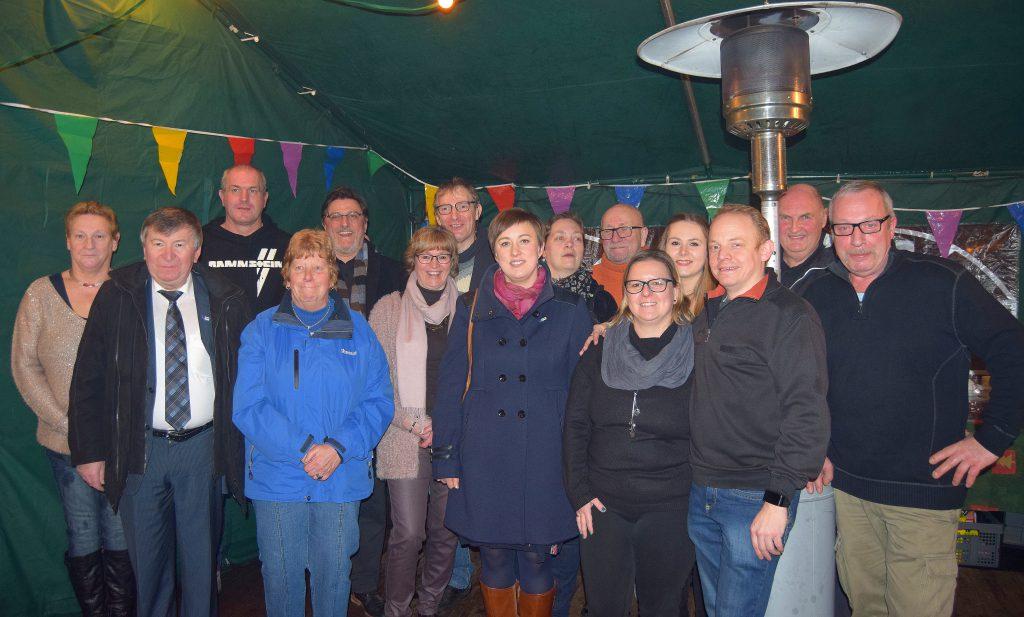 Nieuwjaarsreceptie wijkcomité DurGod Elversele 2017