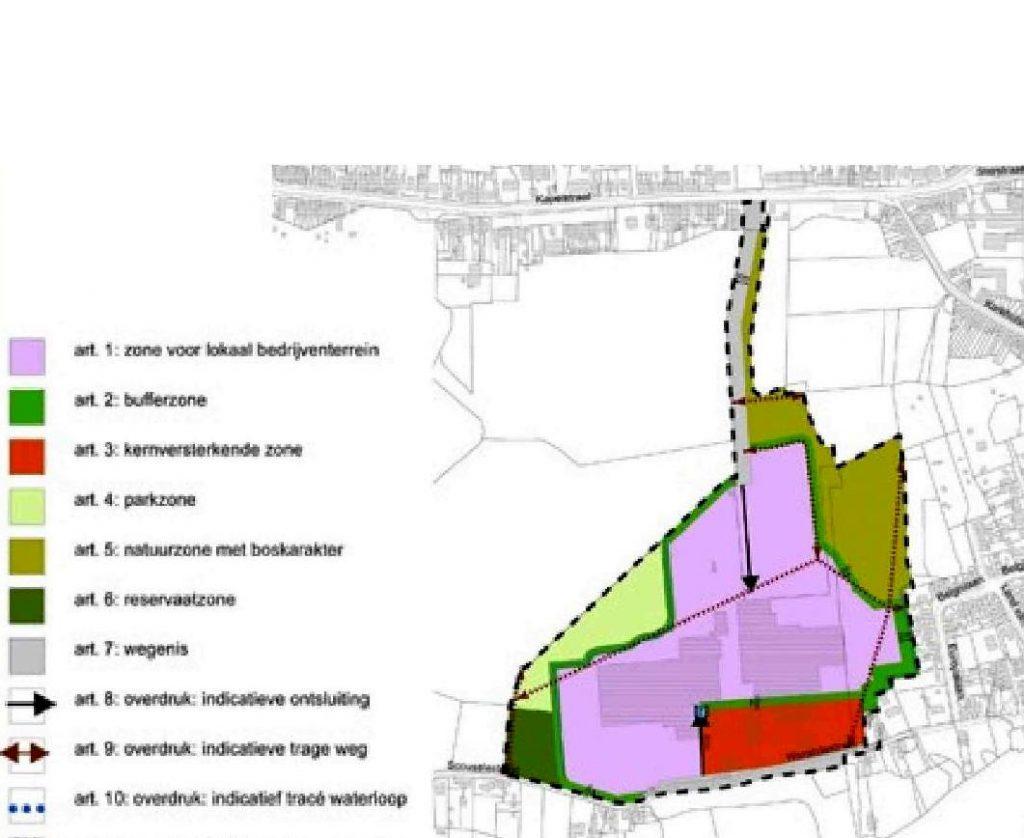 Plan Steenbakkerij Steendorp 2017