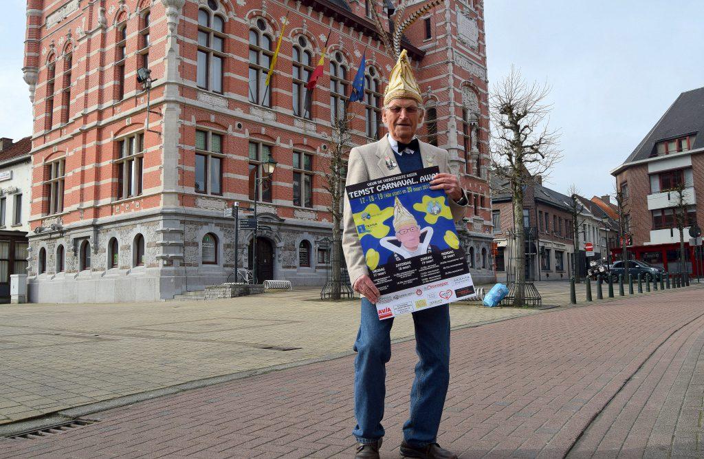 Marcel Philippaerts affiche carnaval 2017