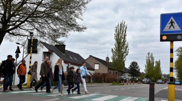 Oversteek Heymanstraat 2017